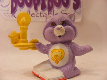 VINTAGE BRIGHTHEART RACCOON CARE BEARS COUSIN MINIATURE